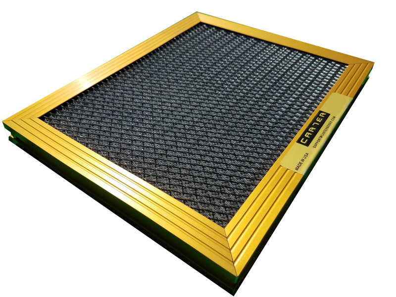 CARTER | Gold | MERV 8 | HVAC & Furnace Filter | Lifetime Warranty | Washable Electrostatic