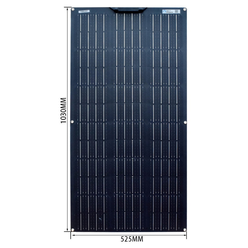100-400 Watt Flexible Solar Panel Kit's With 10-40A PWM Charge Controller and adapters