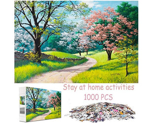 Jigsaw Puzzles 1000 Pieces for Adults Stay at Home Activity Large Puzzle Family Game Artwork for Kids Teen