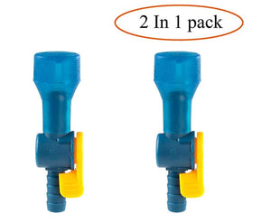 ON-Off Switch Bite Valve Tube Nozzle Replacement for Hydration Pack Bladder