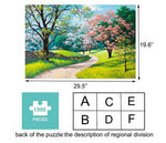 Load image into Gallery viewer, Jigsaw Puzzles 1000 Pieces for Adults Stay at Home Activity Large Puzzle Family Game Artwork for Kids Teen