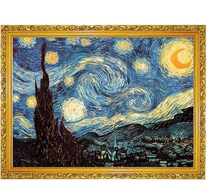 Jigsaw Puzzle Kids Adult, 1000pcs Puzzles for Adults,Starry Night Jigsaw Puzzle Picture Assembling Puzzle Intellectual Game Learning Education Decompression Toys