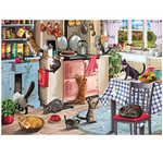 Load image into Gallery viewer, Puzzle Trick or Treat Kitten Jigsaws Picture 1000 Pieces Adult Wooden DIY Jigsaw Puzzle Modern Art Home Decor - Great for Family Time - Promotes Problem-Solving (75 x 50 cm)