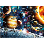 Load image into Gallery viewer, Jigsaw Puzzles for Kids & Adult - 1000 Pieces Cosmic Walk Puzzle - Family Funny Decompression Games