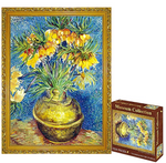 Load image into Gallery viewer, The Sunflowers Puzzle,1000 Pieces, Appreciate The Rhythm of Life, Texture Quality Like Flax Canvas for Kids 10, 11, 12 and Up