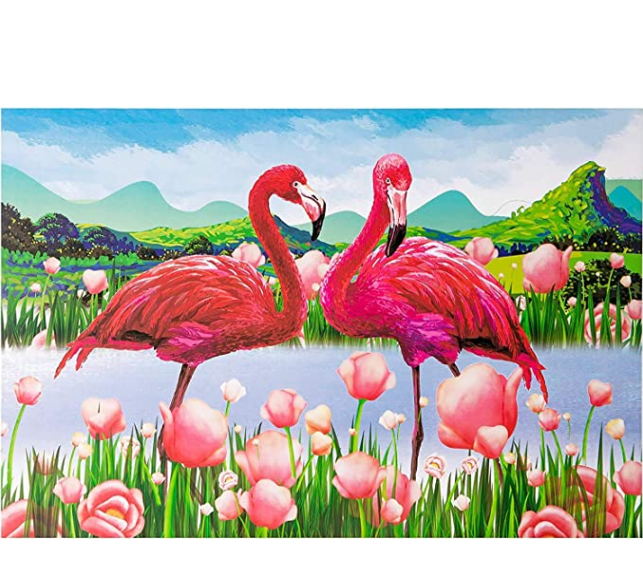 1000PCS Flamingo Jigsaw Puzzles for Kids Adults - Intellectual Educational Game Gift Wall Decorations