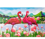 Load image into Gallery viewer, 1000PCS Flamingo Jigsaw Puzzles for Kids Adults - Intellectual Educational Game Gift Wall Decorations