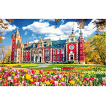 Load image into Gallery viewer, Jigsaw Puzzles 1000 Pieces for Adults Kids Floor Puzzle Intellectual Game Learning Decompression Toys Flower Castle Paper Jigsaw Puzzles