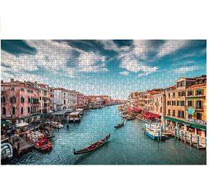 Jigsaw Puzzles 500 Pieces for Adults Standard Size Great View Puzzles- City of Water-Venice Puzzles Game Toy