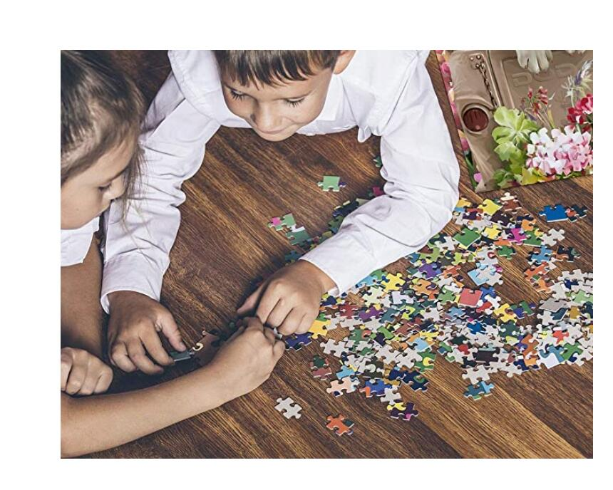 500PCS Dog Jigsaw Puzzle Puppy for Kids Adults, Intellectual Educational Game Learning Decompression, Art Project for Home Wall Decor