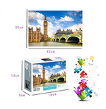 Load image into Gallery viewer, 1000 PCS Jigsaw Puzzles for Adults - Big Ben, Educational Intellectual Decompressing Fun Game for Kids Adults