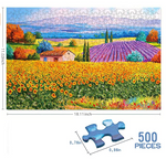 Load image into Gallery viewer, Jigsaw Puzzles 500 Pieces for Adults Great View Puzzles Gift for Family Friends Kids Parents- Rural Scenery Puzzle Game Toy