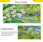 Load image into Gallery viewer, 500 Piece Puzzle for Adults Puzzle Toys Wall Decoration Jigsaw Puzzles - Van Gogh-The Iris