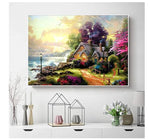 Load image into Gallery viewer, 1000PCS Jigsaw Puzzle Kids Adults, Large Intellectual Educational Game,  Beach - House Art Project for Home Wall Decor
