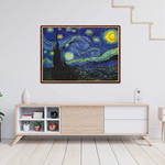 Load image into Gallery viewer, 1000 Piece Jigsaw Puzzle, Starry Sky Floor Puzzle for Kids Adult