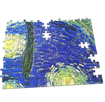 Load image into Gallery viewer, Jigsaw Puzzles for Adults 2000 Piece Jigsaw Puzzle Starry Night by Vincent Van Gogh 27.56 x 39.37 Inches
