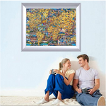Load image into Gallery viewer, Adults Puzzle Game Jigsaws Picture 1000 Pieces Wooden DIY Jigsaw Puzzle Modern Art Home Decor - Great for Family Time - Promotes Problem-Solving (75 x 50 cm)