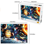 Load image into Gallery viewer, Space Puzzle 1000 Pieces Jigsaw Puzzle for Kids Adults