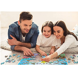 Jigsaw Puzzles 1000 Pieces for Adults Kids Families, Stress Reliever Cute Pet Dogs Doggy Puzzle DIY Colorful Toys Preschool Educational Games Difficult Puzzle Art for Men and Women
