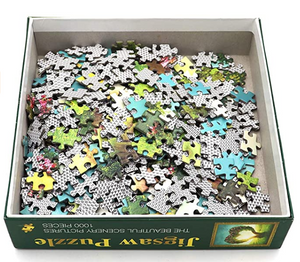 Jigsaw Puzzles 1000 Pieces for Adults for Kids, Love 1000 Pieces Jigsaw Puzzles,Softclick Technology Means Pieces Fit Together Perfectly