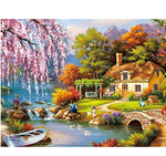 Load image into Gallery viewer, 1000 Piece Puzzles Jigsaw Puzzle for Adults or Kids - Landscape Puzzles Toy 11.9 in x 16.7 in
