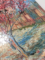 Load image into Gallery viewer, 2000 Pieces Puzzles for Adults Jigsaw Puzzles Floor Puzzle Kids Intellectual Game Learning Education Decompression Toys - The Pink Peach Tree