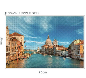Puzzles for Adults 1000 Piece-Beautiful Scenery Puzzle-Brain Challenge Puzzle for Kids-Unique Home Decorations and Gifts-Spring Scene