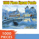 Load image into Gallery viewer, World Map Jigsaw Puzzle - 1000 Pieces Jigsaw Puzzles for Children and Adult, Puzzle Toy - Designed for Kids Ages 10 Years and up, Every Piece is Unique, Pieces Fit Together Perfectly
