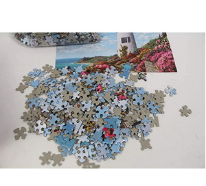 1000 PCS Adult Jigsaw Large Jigsaw Puzzle, Teenager Playing Rugby, Adult Decompression Child Educational Gift.