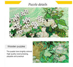 Load image into Gallery viewer, 500 Piece Puzzle for Adults Wooden Large Puzzle Toy Jigsaw Puzzles - Van Gogh Roses