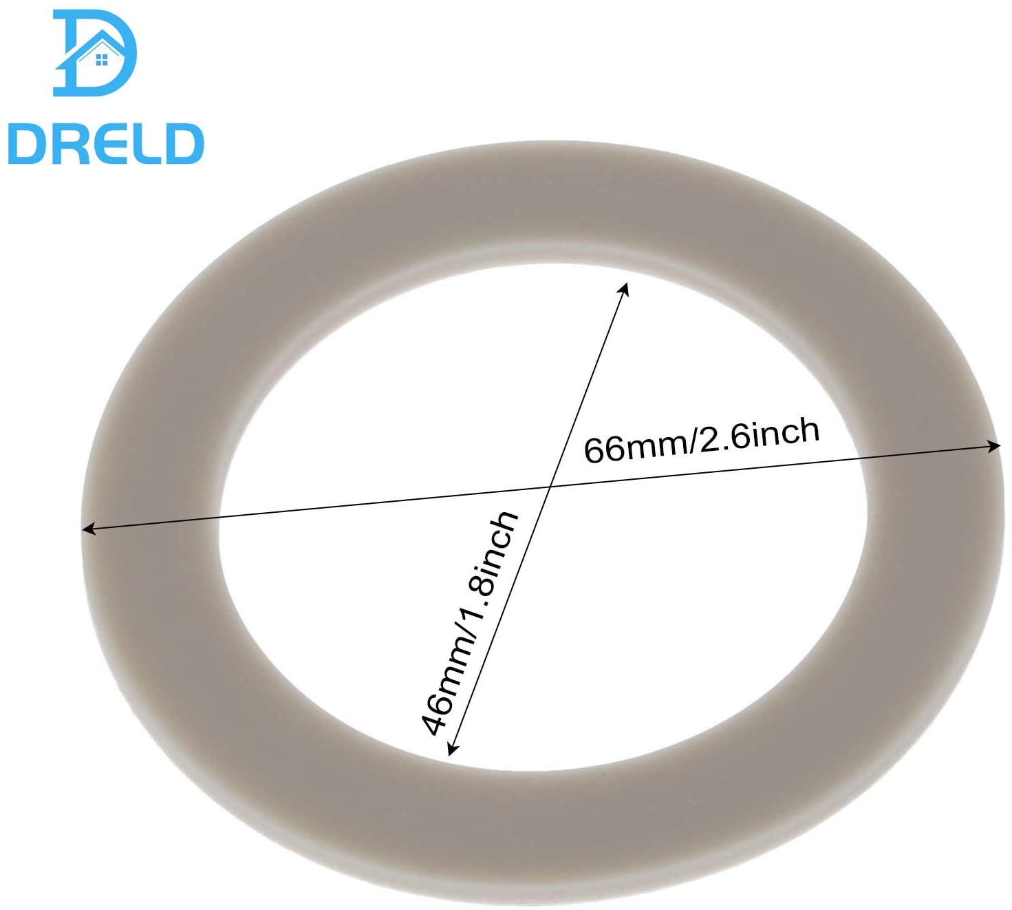 3Pcs Blender Rubber Gasket Sealing O-ring CUCB-456-3, Replacement Part Fit for Cuisinart Blenders # BFP703 BFP-703 BFP703B BFP-703CH SPB-7 SPB7 SPB-7BK CB8 CB9 BFP-703