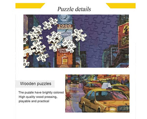 500 Piece Puzzle for Adults and Family Entertainment Jigsaw Puzzles - Prosperous City
