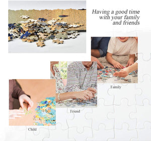 500 Piece Puzzle for Adults Puzzle Toys Wall Decoration Jigsaw Puzzles - Van Gogh-The Iris