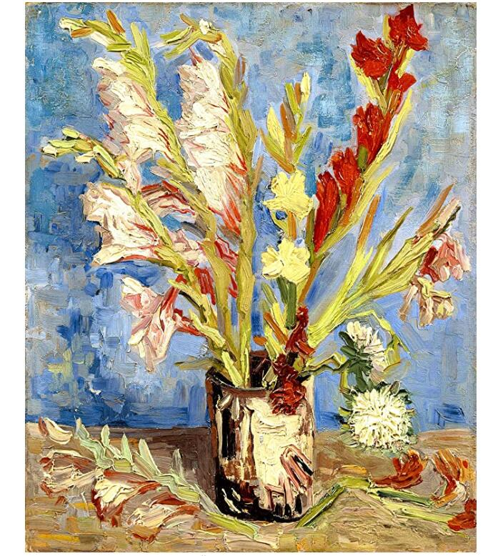 1000 Piece Puzzle for Adults Intellectual Fun Family Game Jigsaw Puzzles - Van Gogh Phoenix Flower