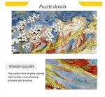 Load image into Gallery viewer, 1000 Piece Puzzle for Adults Intellectual Fun Family Game Jigsaw Puzzles - Van Gogh Phoenix Flower