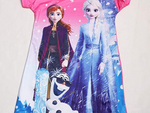 Load image into Gallery viewer, Little Girls Princess Pajamas Toddler Nightgown Dress