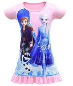 Load image into Gallery viewer, Kids Girls Dress Halloween Costume Popular Party Cosplay Nightgowns Sleepwear