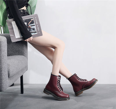 LEATHER ENGLISH BOOT