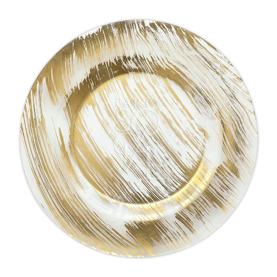 CHARGER PLATE - GOLD BRUSHED