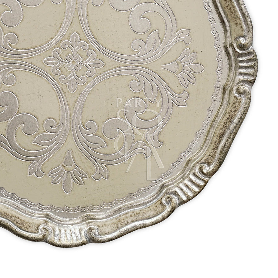 CHARGER PLATE - FLORENTINE ANTIQUE