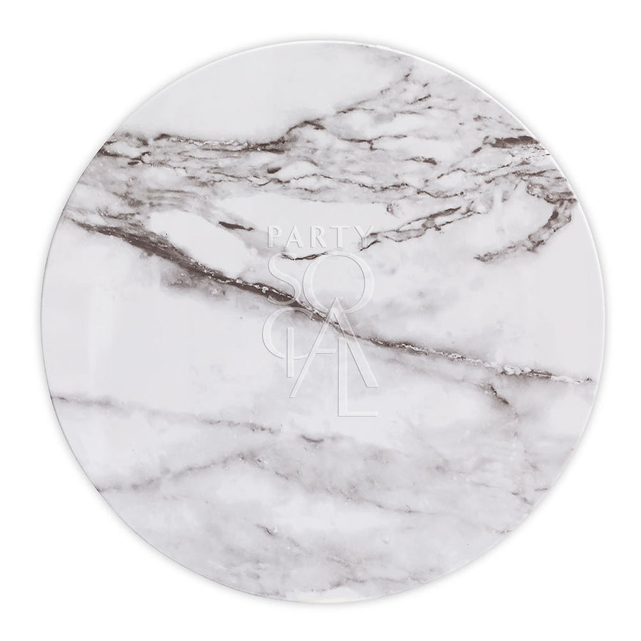 CHARGER PLATE - MARBLE TRAY