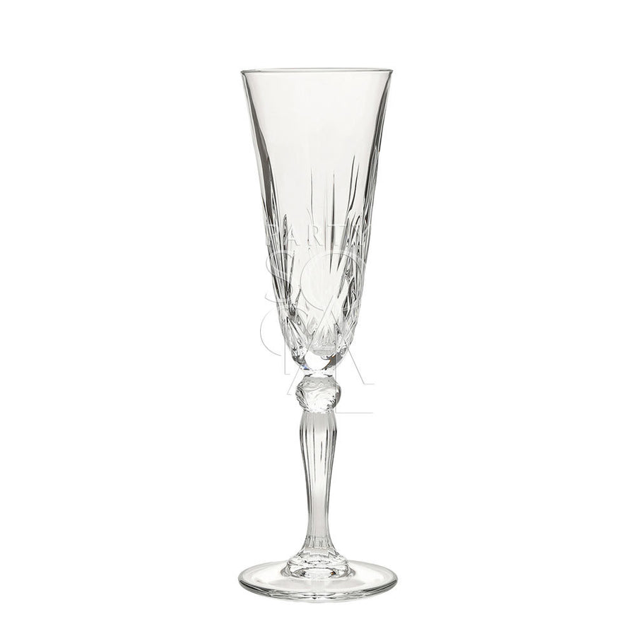 CRYSTAL CHAMPAGNE GLASS ROME