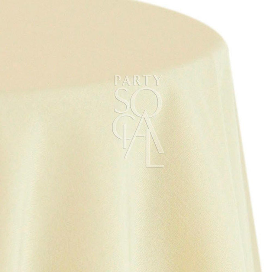 ROUND TABLECLOTH LINEN BLEND