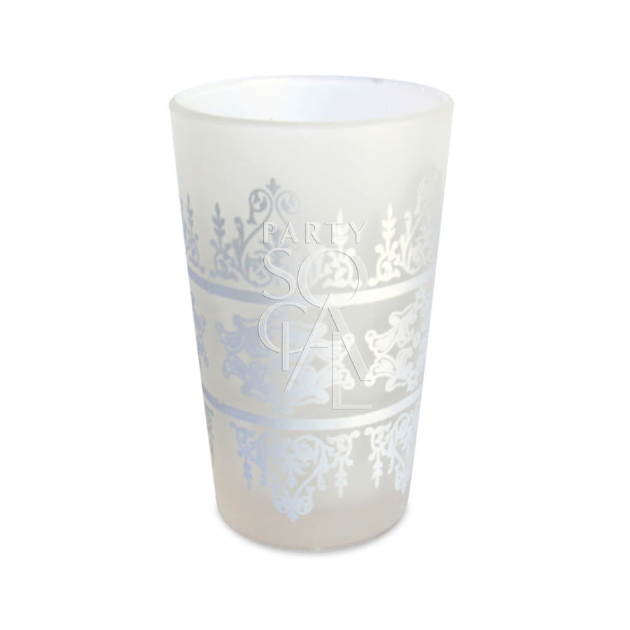 MOROCCAN TEA GLASS  - FROSTED