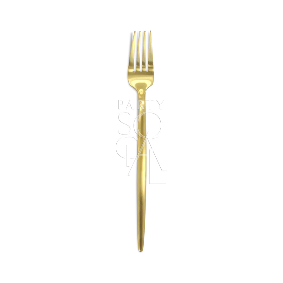 CUTLERY MODERN GOLD ( SET OF 8 PIECE )