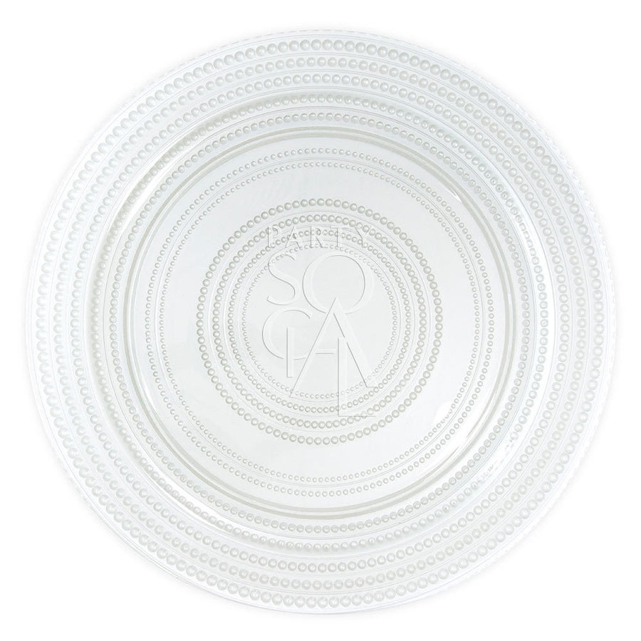 CHARGER PLATE - PEARL
