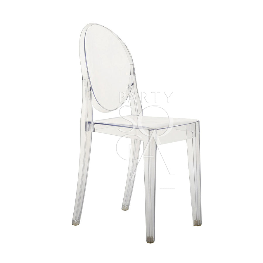GHOST CHAIR W/O ARMS (VICTORIA)