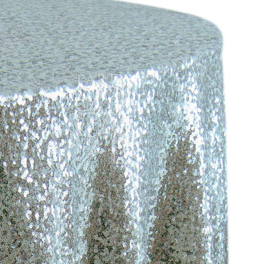 ROUND TABLECLOTH SEQUIN