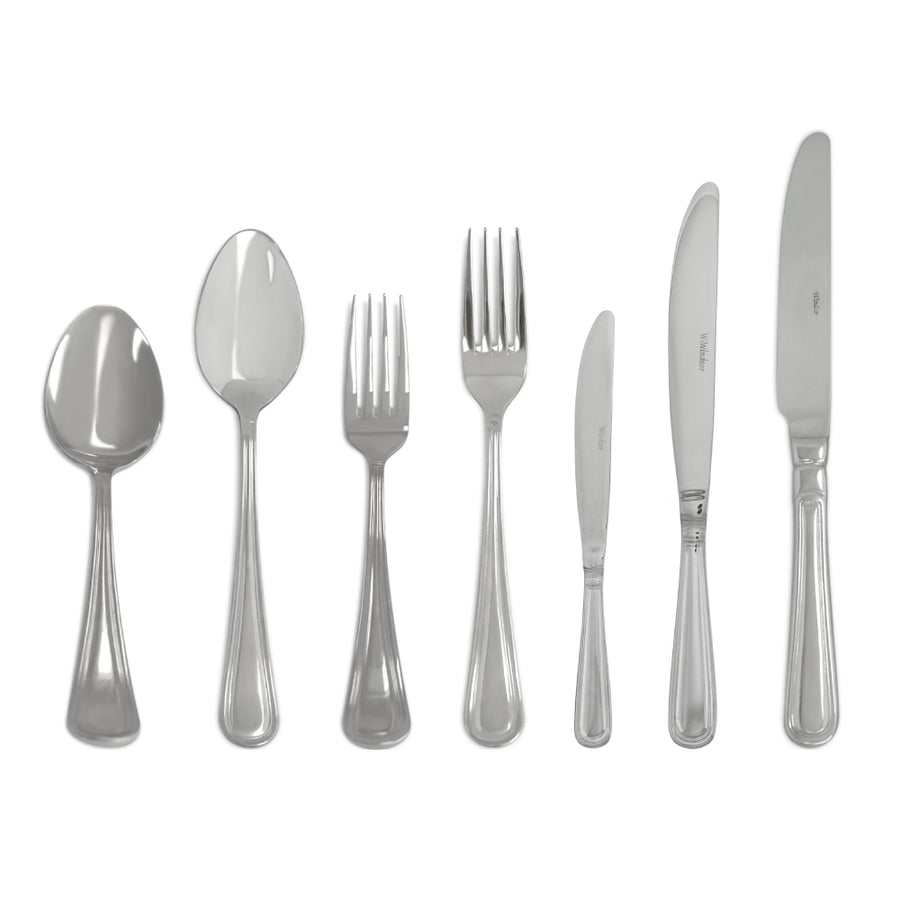 CUTLERY SIMPLE SILVER ( SET OF 7 PIECE )