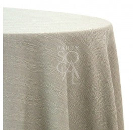 TC TAUPE THICK LINEN WEAVE 132